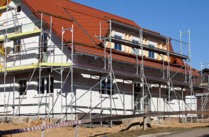 Scaffolders Irlam, Greater Manchester